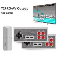 DATA FROG USB Game Consoles HDMI Wireless Portable Video Games Player 568 AV 600 Retro Classic Games Handheld Entertainment Joystick Nostalgic host