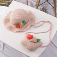 Ins kız dokuma çanta maç şapka ekose yay omuz gençlik plaj rahat messenger çanta 3246 q2