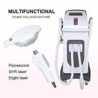 Hottest 2 in 1 Elight Ipl Shr Nd Yag Laser Hair Remover Tattoo Removal Machine For Beauty Clinic Use