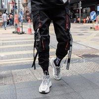 Men's Pants Prowow 2021 Summer Black Hip Hop Cargo Men Streetwear Cotton Joggers Fashion Sweatpants Casual Harem Trousers
