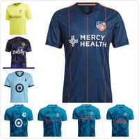 MLS 2021 Seattle Sounders Футбольные трикотажные изделия Parley PrimeBlue Kit Cincinnati 21 22 Джими Хендрикс Нашвилл СК Монтерео Миннесота United FC CamiSetas Футбольные рубашки