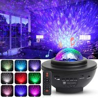 Galaxy Projector Led Star Lighting for Bedroom 3 in 1 Nebula Lamp with Bluetooth Speaker Ceiling Decor Ocean Wave Night Light with 21 Color Changing