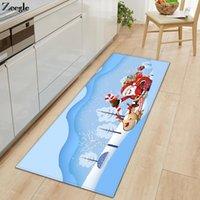 Carpets Zeegle Long Rectangle Kitchen Rug Living Room Carpet Anti-slip Bathroom Doormat Shower Mat Absorbent Hallway Floor Foot
