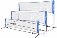 Conjunto de tênis de voleibol de badminton portátil 10 pés com suporte / quadros