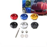 Schnellspanner Latch Kit Autohaube Pins Lock Bumper Fixed Push Button Billet für Racing Universal Autozubehör Modifikation
