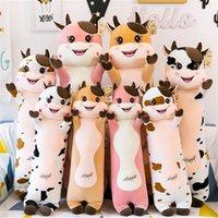 Bonecas de pelúcia da mascote de boi Ano de vaca criativa brinquedo bonito boneca infantil grande travesseiro menina coração