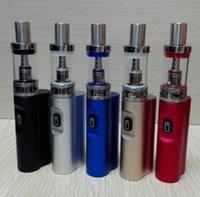 Topquality Jomo Lite 40 with 3ML Tank Cigarette Kits Box Mod Lite40w vapors pen kit VS yocan uni Dabcool W2 lookah Seahorse pro