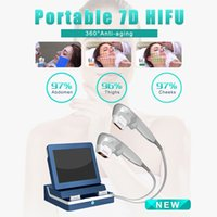 Professional 7D HIFU beauty machine anti aging skin tighten fat removal body shaping equipment CE approved 2 years warranty