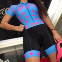 Pro Team Triathlon Suit Women's Cycling Jersey Skinsuit Jumpsuit Maillot Ropa Ciclismo Set Pink Gel Pad 039 Racing Sets