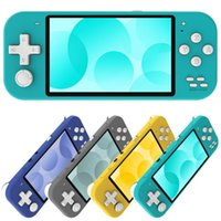 Portable Game Players 2021 X20 Mini Retro Handheld Player 4.3 Inch Screen 8GB Dual Open Source System Pocket Video Console