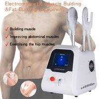 2 Handles Emslim HI-EMT body sculpting machine muscle build fat burn ems slimming beauty equipment