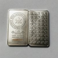 10 Pcs Non magnetic Royal CA Art Sivler Plated Bars 50 x 28 Mm 1 OZ Coin Decoration Bar With Different Laser Serial Number