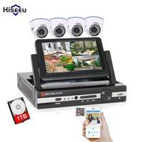 Sistema 1T HDD AHD 960P DVR IR Dome Câmera Interior Casa Security Surveillance Kit 7inch Mationaler Hiseeu Sistemas CCTV