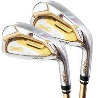 Golfclubs Männer 4-Sterne-Honma S-07 Bügeleisen 4-11 Wie Beres Golf Club Set R oder S Flex Graphit Welle und Kopfbedeckung