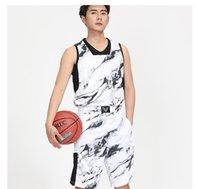 Men's Tracksuits Men Women Basketball Jersey Sets Sport Kit Clothing Breathable Sleeveless Shirts Shorts Suit