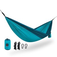 Tents And Shelters Outdoor Hanging Chair 1-2 Person Backpacking Folding Portable Camping Hammock Swing Travel Beach Bed