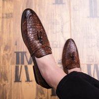 Scarpa indossata maschio business formale abbigliamento da uomo in pelle casual da uomo scarpe da sposa mocassini 2021 fabo