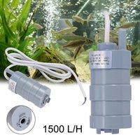 Luftpumpen Zubehör Tauchpumpe 12V DC 1.2A 5m 1000l / h Aquarium Mikromotorwasser-Wasser-Tankreiniger