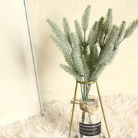 Decorative Flowers & Wreaths 1 Bunch Plastic Dog's Tail Grass Artificial Plants Vases For Home Decoration Accessories Wedding Fake Floristic