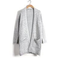 Newly Women Knitted Sweater Casual Cardigan Long Sleeve Jacket Coat Outwear Tops Plus Size ZHL5914