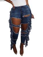 Cm. Yaya extraído planta splicing denim mulheres retro sólido sexy gat jeans revestido batlado rua senhora broek