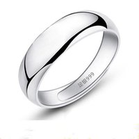 Wedding Rings Couple For Women Lovers Simple Design Fashion Jewelry Bridal Sets Engagement Finger Accessory Gift