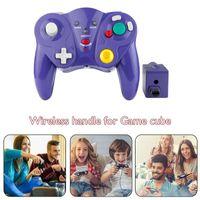 Controller di gioco Joysticks Double Vibration Clear Controller Gamepad Joypad wireless Joypad per cubo