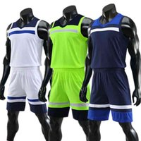 Kids Adult Basketball Jersey Set Child Men Uniform Shoot Basket Training Suit Breathable Sports Vest Shorts Kit