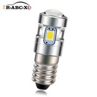 1 шт. 9 мм E10 Винтовая базовая лампочка Заменить индикаторную лампу 2535SMD 500LM Speatlight NOLOR 6000K 4300K 3V 4.5V 6V LED аварийные огни