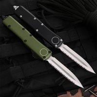 Commercio all'ingrosso CNC Coltello automatico VG10 Blade in acciaio T6061 Maniglia A14 UTX70 UTX85 UT121 BM3300 BM3500 A07 A16 Benchmade Benchmade Pieghevole Strumento EDC per caccia coltelli tascabile