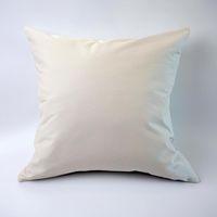 Home Baumwolle Kissenbezug Wurfkissenbezüge Kissen Hülle für Sofa Schlafzimmer Auto Leere reine Farbe 45 * 45 cm 18 Zoll