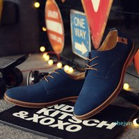 Designer- Elegant Shoes Men Oxfords Dress Shoes Leather Cow Suede Plus Size Prom Formal Wedding Shoes Man