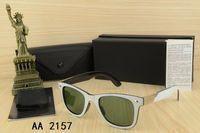 AARB2157 أزياء نظارات ماركة النظارات الشمسية الكلاسيكية للرجال النساء خمر القيادة uv400 الدراجات نظارات في الهواء الطلق الرياضة ظلال الشاطئ مع مربع وقضية 5 ألوان