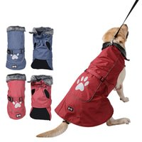Dog Apparel Christmas Waterproof Clothes Vest Jacket Warm Pet Winter Puppy Coat Chihuahua Pitbull Small Medium Large Dogs