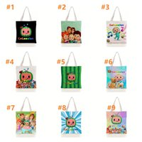 DHL JOJO Cocomelon Canvas Bag Darks Harajuku Gothic style Shopper Large Capacity Women's Bag Classic Shoulder Bag Vintage HandBag