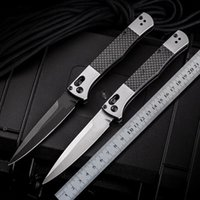 Bench BM4170 4170bk Auto Fact Italian Mafia Folding Knife S90v Blade Aluminum Carbon Fiber Outdoor Hunting Self Defense Pocket Knives BM 940 485 535 9400 UT85 UT88 A07