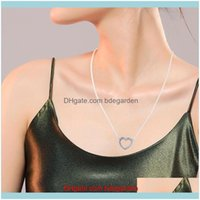 Chains & Jewelryloving Hearts Chain For Women Party Wedding Jewelry Fashion Pendants Necklaces Collier Drop Delivery 2021 Grdgk