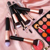 Makeup Brushes Premium Brush Wood Handle Cosmetic For Powder Foundation Blush Blending Eye Shadow Lip Beauty