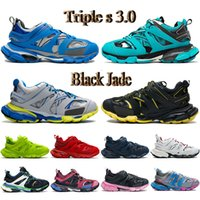 Üst Üçlü S 3.0 Erkek Rahat Ayakkabılar Mavi Sarı Gri Beyaz Siyah Yeşim Bordo Donanma Eğitmen Lime Pembe Erkek Kadın Sneakers
