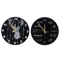 الصناعية الحديثة الحائط ساعة الفن الأمريكية شخصية غرفة المعيشة الساعات الرئيسية مكتب المدرسة خمر ديكور GWD6220