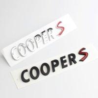 Araba 3D ABS Çıkartmaları Sticker Mini Cooper için S R50 R53 R55 R56 R60 F54 F55 F56 F60 Araba Gövde Vücut Rozeti Amblem Çıkartmalar Aksesuarları