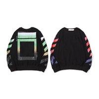 Sweats à Sweats à capuche Harajuku Streetwear Couples Sweatshirts arrow Impression de coton en coton en vrac Sweat-shirt Trendy Hommes Pull à manches longues à manches longues