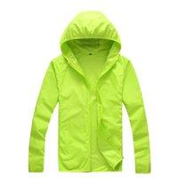 Manteau de peau sèche Étanche Étanche Étanche UV Femmes Mince Armée Outwear Ultra-Light Windbreake Jacket Hommes Vestes d'hommes Jacke Jacke