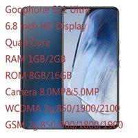 Goo Telefonları S21 Ultra 6.8 inç HD Ekran WCDMA 3G RAM 1 GB / 2 GB ROM 8GB / 16 GB Kamera 8.0MP + 5.0MP Andriod 11.1 OS Gösterisi 12 + 512 GB PK 12 Pro Max Note20