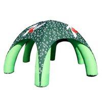 Пауш-палатка надувной надувной диаграммы Dio4xH3,5 м с пользовательской печатной базовой базой