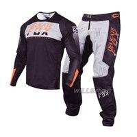 Hassas Tilki Flexair Machs Jersey Pantolon Motosiklet MX ATV Dirt Bike DH UTV MTB Dişli Seti