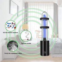 Car Air Freshener Ultraviolet Light Rechargeable UV Sterilizer Bulb Germicidal Lamp In Addition Mite Lights Ozone Sterilization