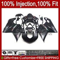Bodywork Injection For DUCATI 848 1098 1198 S R 1198R 07 08 09 10 11 12 Body 18No.81 848S 848R 1098R 07-12 1098S 1198S Flat Black 2007 2008 2009 2010 2011 2012 OEM Fairing