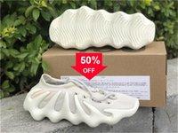 2021 Authentic 450 nuage blanc H68038 Chaussures de plein air Mens Femmes Scark Cloud -Black Kanye West Wave Runner Zapatos avec original 36 -47