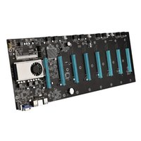 Motherboards Riserless Mining Motherboard 8 GPU Crypto Ethern-Support 1066/1333 / 1600MHz